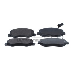 nissan nv400 renault master vauxhall movano brake pads rear  [ 874 x 987 Pixel ]