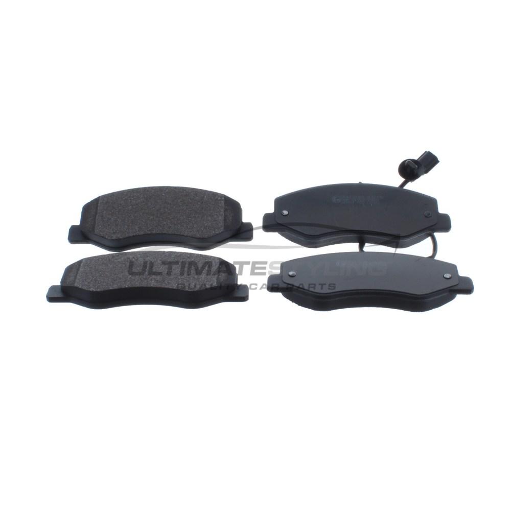 medium resolution of nissan nv400 renault master vauxhall movano brake pads rear