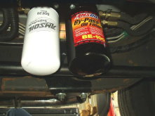 AMSOIL BMK-27 Dual Remote Bypass Filter Installation on 2002 GMC 2500HD Duramax