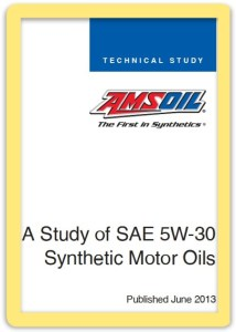 ASTM Test Study of Synthetic 5W-30 Motor Oils