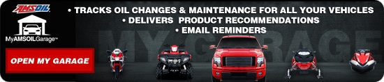 My AMSOIL Garage tracks your oil changes and maintenance for ALL your vehicles for FREE