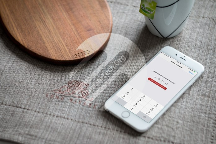 How to Hack Restrictions Passcode in iOS?