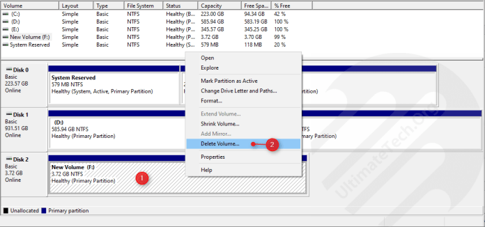 How to Make Partitions for USB Drive?