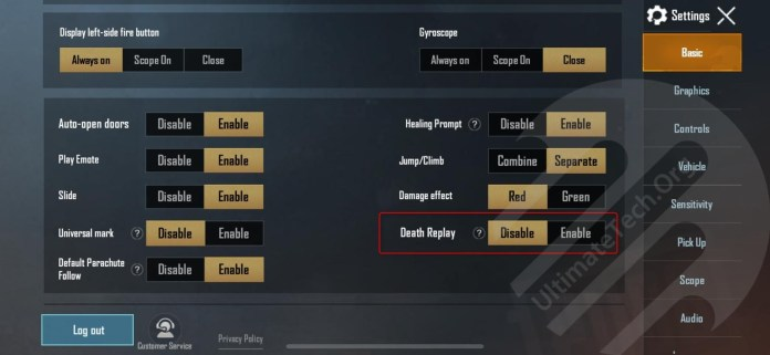 How To Enable Death Replay & Universal Mark on PUBG Mobile 2