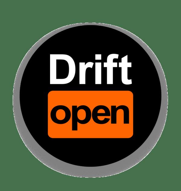 Naklejka DriftHub Drift Open