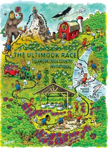 3k Ultimook Race Course Map