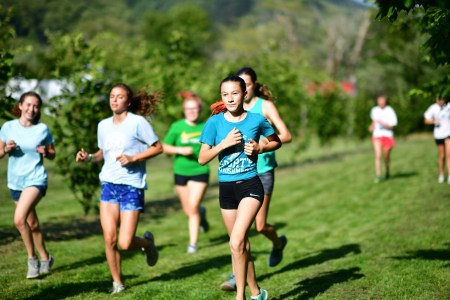 High School Running Camp, Session 2, Day 1