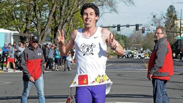 Tyler Van Dyke Wins Peal Blossom 10 Miler