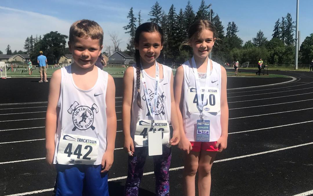 Ultimook Youth compete at TrackTown meet