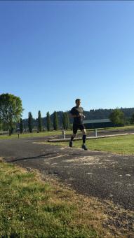 Weekly Workout: 25 x 1/1 Fartlek