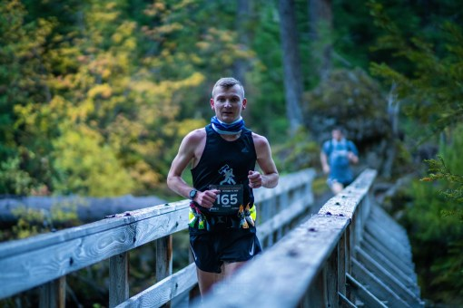 In his debut, Roman finishes runner-up at Rogue Gorge 50k