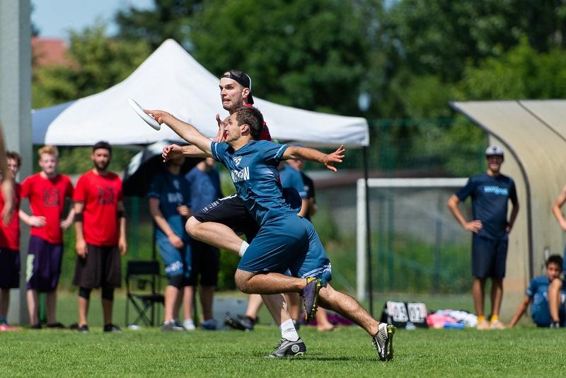 Obrona ultimate frisbee
