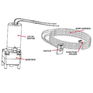 ULTRA-SERIES MOTOR & SWITCH KIT FOR ULTRA MANUAL 5WJ