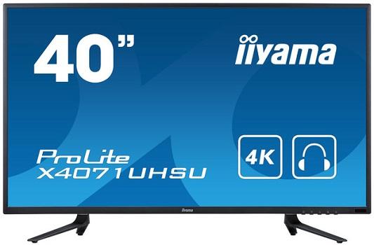 iiyama ProLite X4071UHSU-B1: 40 Zoll Ultra HD Monitor für 620 Euro