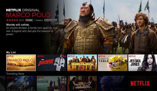 Netflix: 100 Stunden UHD HDR Material bis August 2016