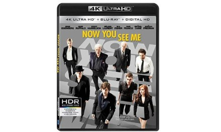 "LionsGate: ""Now You See Me"" in den USA auf Ultra HD Blu-ray"