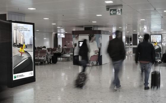 Ultra HD Screens: Jetzt auch am Genfer Airport
