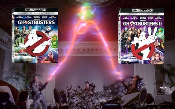 Ultra HD Blu-rays: Starttermin für Ghostbusters 1 & 2 von Sony