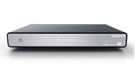 HUMAX UHD 4tune+: 4K Sat-Receiver mit 4K-Aufnahme ab Mai