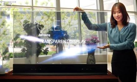 Samsung: Transparente OLED TVs werden begraben