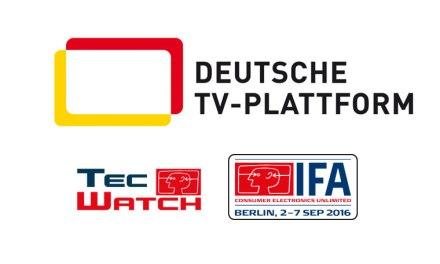 IFA TecWatch: Forum der Deutschen TV-Plattform zu Ultra HD