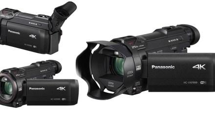 """Panasonic VXF 999 ein 4K-Consumer-Camcorder mit """"künstlerischer"""" Ader"""