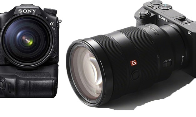 Sony wildert im Revier der Platzhirsche Canon und Nikon