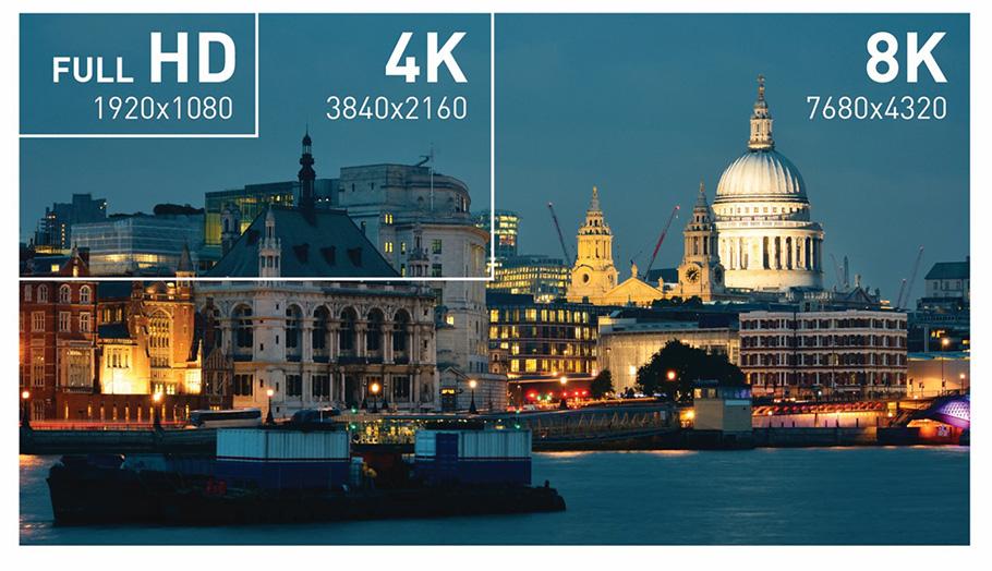 8K-Fernseher: Samsung sieht für 2019 mehr als 50 % der Marktanteile bei sich