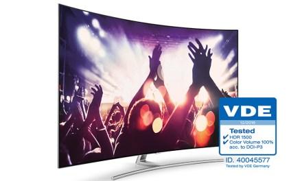 2017er Samsung QLED-TVs erfahren hohe Weihen durch den VDE