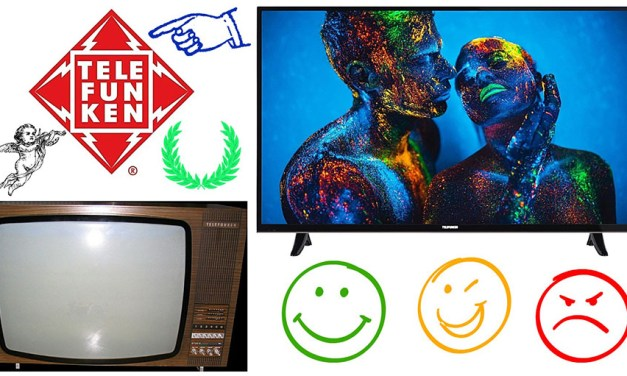 """Telefunken Smart-TV führt """"4K Fernseher Bestenliste 2017"""" mit an"""