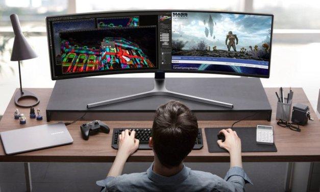 Samsung setzt bei Gaming-Monitoren auf Ultra Wide Design und QLED