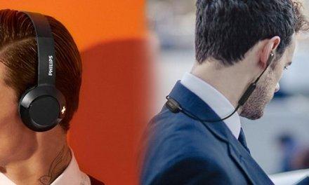 Philips und Panasonic präsentieren Bluetooth-Kopfhörer zum Mitnahmepreis
