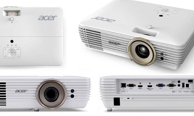 Flexibilität macht Acer V7850 zum UHD-Beamer für alle Gelegenheiten