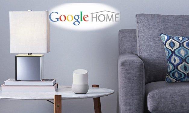 """Start von """"Google Home"""" wird von namhaften Herstellern begleitet"""