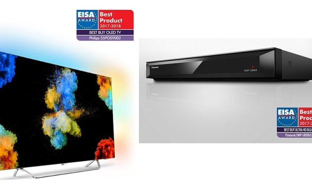 EISA-Awards für Panasonics Einsteiger UHD-Player und zweiten Philips OLED TV