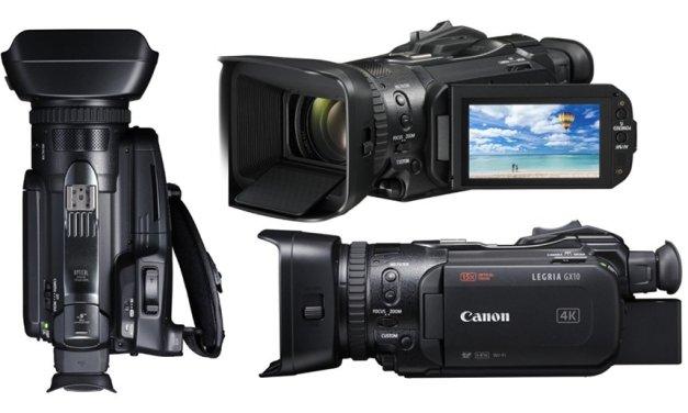 Canon Legria GX10: der Video-Enthusiast unter den 4K-Profis