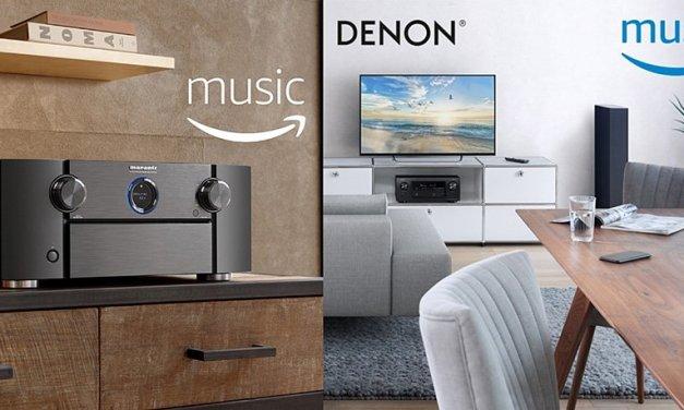 """Denon und Marantz """"heiraten"""" Streaming-Dienst Amazon Music"""