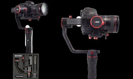 FeiyuTech Alpha Gimbals erkennen sogar das Gewicht der Kamera