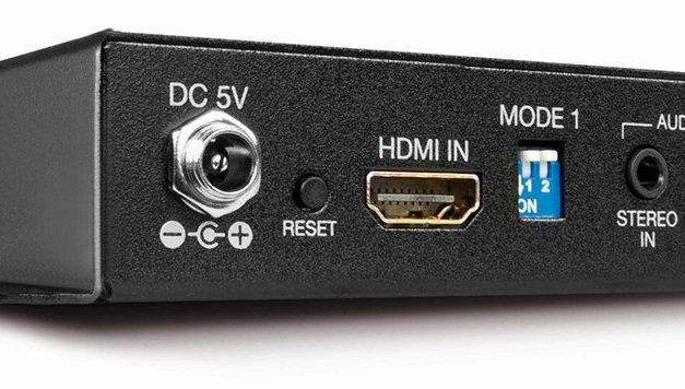 Universalgenie von Lindy extrahiert HDMI-Ausgangssignale