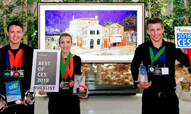 "LGs Top-OLED TV verteidigt Titel ""CES Best TV Product Award"""