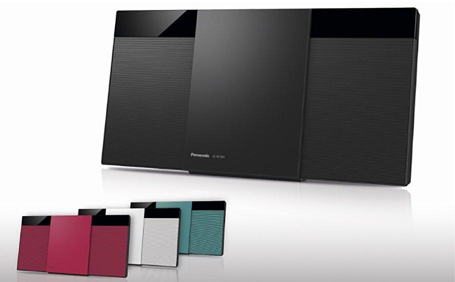 Panasonics Micro HiFi-Serie wird trendiger und technisch raffinierter