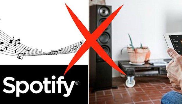 """Spotify entzieht namhaften Herstellern """"Lizenz zum Streamen"""""""