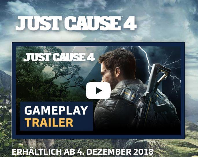 Just Cause 4: PC-Anforderungen für 4K-Gaming bekannt