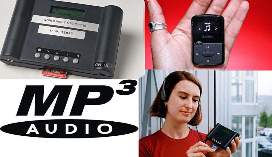 """""""Eingedampftes"""" Datei-Volumen ebnete Siegeszug für MP3-Player"""
