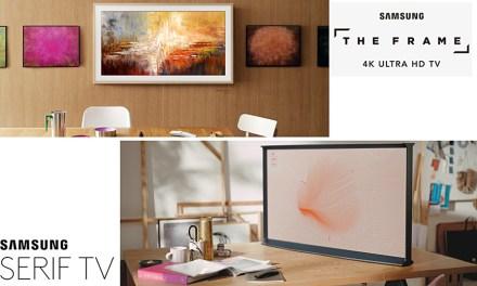 Fernseher oder Kunstobjekte? Samsung lässt Grenzen schmelzen