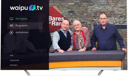 waipu.tv auch auf Android-TVs: Unkompliziert und verführerisch