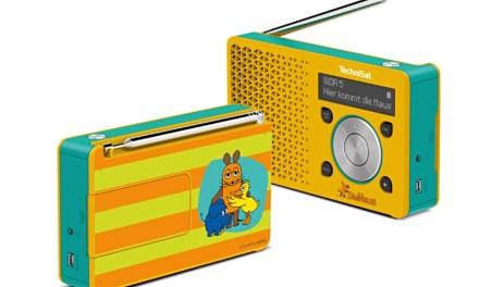 Bei TechniSat kommt die Maus: DAB+ Radio nicht nur für Kids