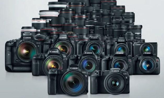 And the Winner is again Canon! Japaner wieder weltweit führend