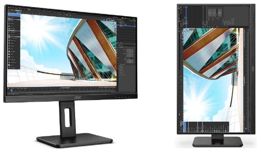 Monitore für alle Anforderungen: AOC stellt jetzt seine P2-Serie vor