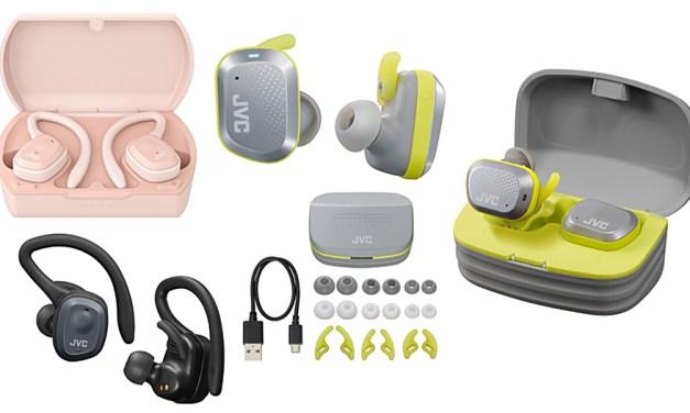 In-Ear-Kopfhörer von JVC sind kabellos und nicht wasserscheu